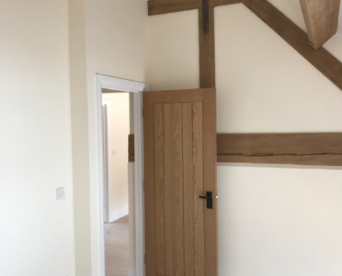 Barn Conversion Oak details