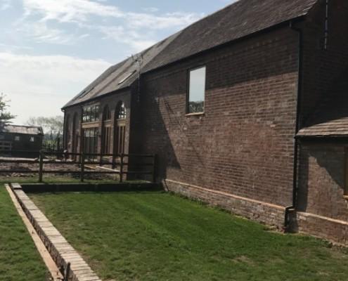 Barn Conversion Brickwork