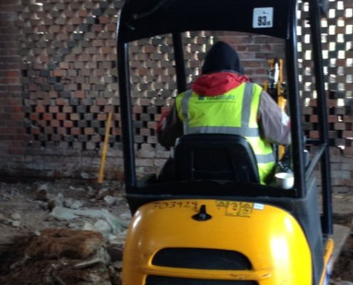 Barn Conversion Groundwork
