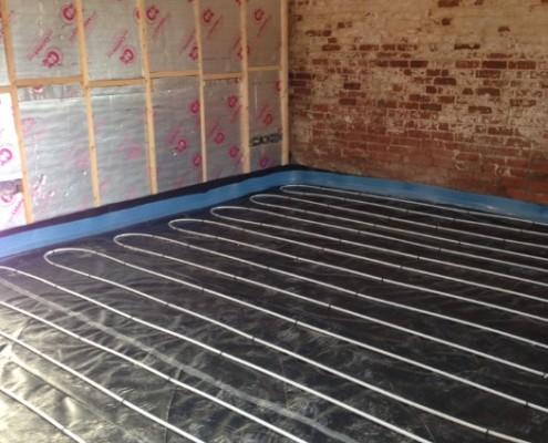 Barn Conversion - Underfloor heating